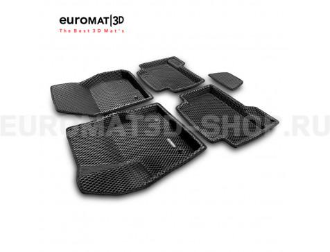 3D коврики Euromat3D EVA в салон для Ford C-Max (2003-2010) № EM3DEVA-002208